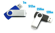 USB 2.0 Flash Drive Disk Memory Stick Thumb Storage Swivel 1TB/512GB/256GB/128GB