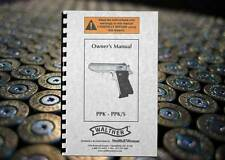 WALTHER PPK PPK/S Pistol Owners Instruction Gun Manual