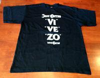 Rare Jose Cuervo Vivezo Tequila T-Shirt Size Small