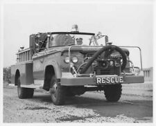 1961 Dodge Power Wagon 300 Series Fire Truck Press Photo 0189 Harrison Township