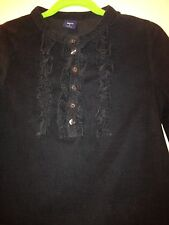 Gap Kids BLEECKER Black Corduroy Dress - Size S - Great With Leggings!!!!