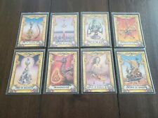 Complete 8x Treasure Set BATTLE CARDS Steve Jackson Merlin 1993 Fighting Fantasy