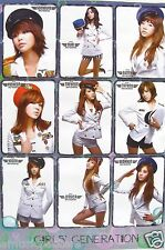 """GIRLS' GENERATION """"9 SEXY PILOTS"""" POSTER FROM ASIA - Hot Korean K-Pop Girl Band"""