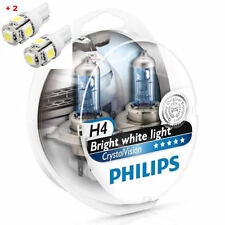 Philips Crystal Vision H4 Twin - 2 free LED T10/W5W
