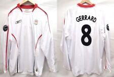 Liverpool 2005-2006 Away Gerrard Player Issue Soccer Football Shirt