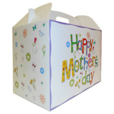 HAPPY MOTHER'S DAY GIFT BOXES - Gift Hamper for Mum, Gable Box Packaging (pk 10)