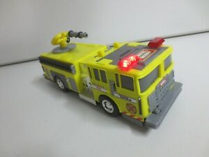 """Tonka Fire Rescue Lights and Sounds Rare Yellow Truck Engine Hasbro Funrise 13"""""""