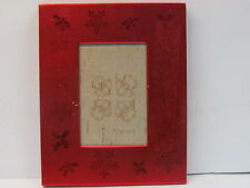 NATIVE AMERICAN BIRCH BARK BITING SIGNED ADORABLE BUGS DESIGN IN PICTURE FRAME