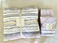 Pottery Barn Kids Bridget Full/Qn Comforter + 2 Euro Shams