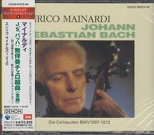 ENRICO MAINARDI Bach Six Suites for Cello Solo BWV 1007-1012 3CD JAPAN NEW