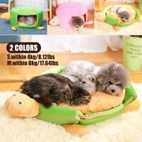 Turtle Tortoise Puppy Pet Dog Cat Cave Bed Sleeping Bag Mat House Kennel Soft