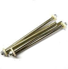 L8012 1/8 Acero Rc de amortiguador suspensión de amortiguador Pistón Eje Arandela 88mm X 4