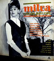 LP MILVA CANTA PER VOI   ITALY 1962 ORIGINALE   II° 33 DI GIRI I^ STAMPA