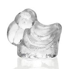 Skruf - Lars Hellsten - Large Abstract Cast Glass Pelican Figure - 1960s Swedish