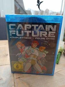 Captain Future Komplettbox Folge 1 - 40 (Blu-ray) NEU OVP