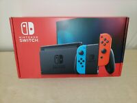 🔥Nintendo Switch Neon Red & Blue Joy-Con Console  *Newest Version*🔥