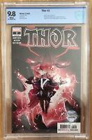Thor #2  Donny Cates 1st Black Winter 1st Print CBCS 9.8 (not CGC)