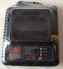 BLACK&DECKER LCS36 TYPE 2 36V AND 40V MAX  LITHIUM CHARGER