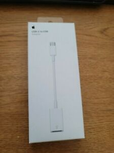 New Genuine Apple USB-C to USB Adapter A1632 cable