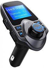 Trasmettitore FM, VicTsing Auto Trasmettitore FM Lettore mp3 Bluetooth Vivavoce Auto