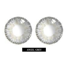 2Pcs Natural Plain Glass Contact Lenses Men Women Party Eye Makeup Eyewear Tools