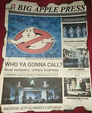 Ghostbusters News Print 1984