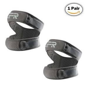 Open Knee Support Brace Running Strap Arthritis Pain Relief Patellar Tendon Gel