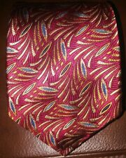 ROBERT TALBOTT BEST OF CLASS Vibrant Colors100% Silk Tie ~ GORGOUES!