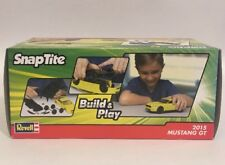 2015 FORD MUSTANG GT REVELL YELLOW 1:25 SCALE SNAP TITE KIT NO GLUE NEEDED