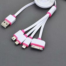 4 in 1 Multi USB Charger Charging Cable Cord For Cell Phone iPhone 6 7 6s 7s UP