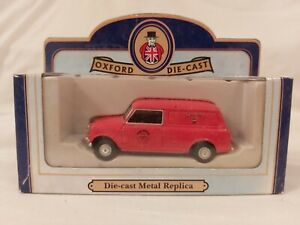OXFORD  DIECAST - ROYAL MAIL MINI  VAN - SCALE:1.43