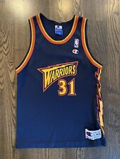 Vintage ADONAL FOYLE #31 Golden State Warriors Champion Jersey Youth Large 14-16