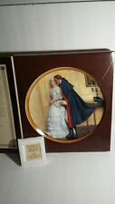 Norman rockwell plates edwin knowles