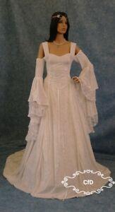 celtic wedding dress, medieval dress, renaissance gown, handfasting dress, lotr