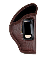 Smith & Wesson SD9 VE & SD40 VE IWB Soft Leather Gun Holster For Concealed Carry