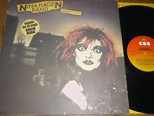 NINA HAGEN BAND - Unbehagen - LP - CBS
