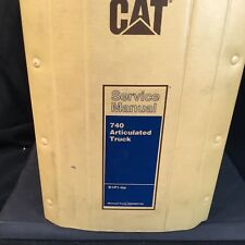 Caterpillar 740 Articulated Truck Service Manual B1P1-Up RENR6740 5th Revision