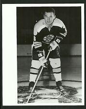 Ted Green Boston Bruins 1960s Vintage Hockey Press Photo