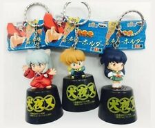 NEW Rare Inuyasha Kagome Shippo Figure Voice Key Holder 3 Types Official Japan