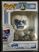 Funko Pop Abominable Snowman Diamond #289 Disney Park Exclusive  .50mm protector