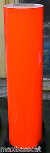 3M Scotchcal Dayglo Fluorescent Red Orange Self Adhesive Vinyl 610mm x 1m