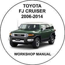 Toyota FJ Cruiser 2006-2014 Workshop Service Repair Manual
