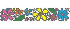 SUNSTRIP NATURE - FLOWER - GLASS DECAL - 23.5 CM x 5 CM