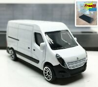 Majorette Renault Master White 1/66 239C no Package Free Display Box