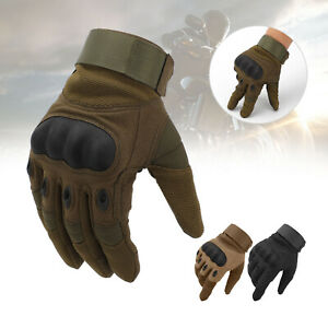 Motorcycle Gloves Tactical Military Motorbike Hiking Hunting Outdoor Sports