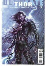 "Ultimate Thor 1 1:15 ""Villain"" Cover Signed by Jonathan Hickman, Mike Choi"