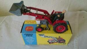 Corgi Toys 69 Massey Ferguson 165 Tractor with shovel 1967-72 all original