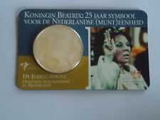 Niederlande 2005 - 25 Jahre Königin Beatrix - Coincard