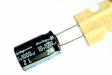 8pc Rubycon ZL  1000uF 10v 105C Radial Electrolytic Capacitor for  Motherboard