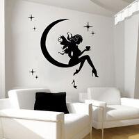 Wall Decals Fairy Decal Vinyl Sticker Bathroom Kitchen Bedroom Decor Art MN653